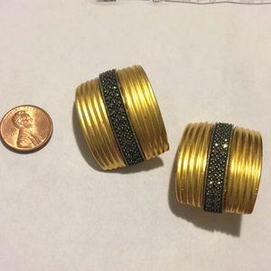 Jewelry - Judith Jack Marcasite clip earrings